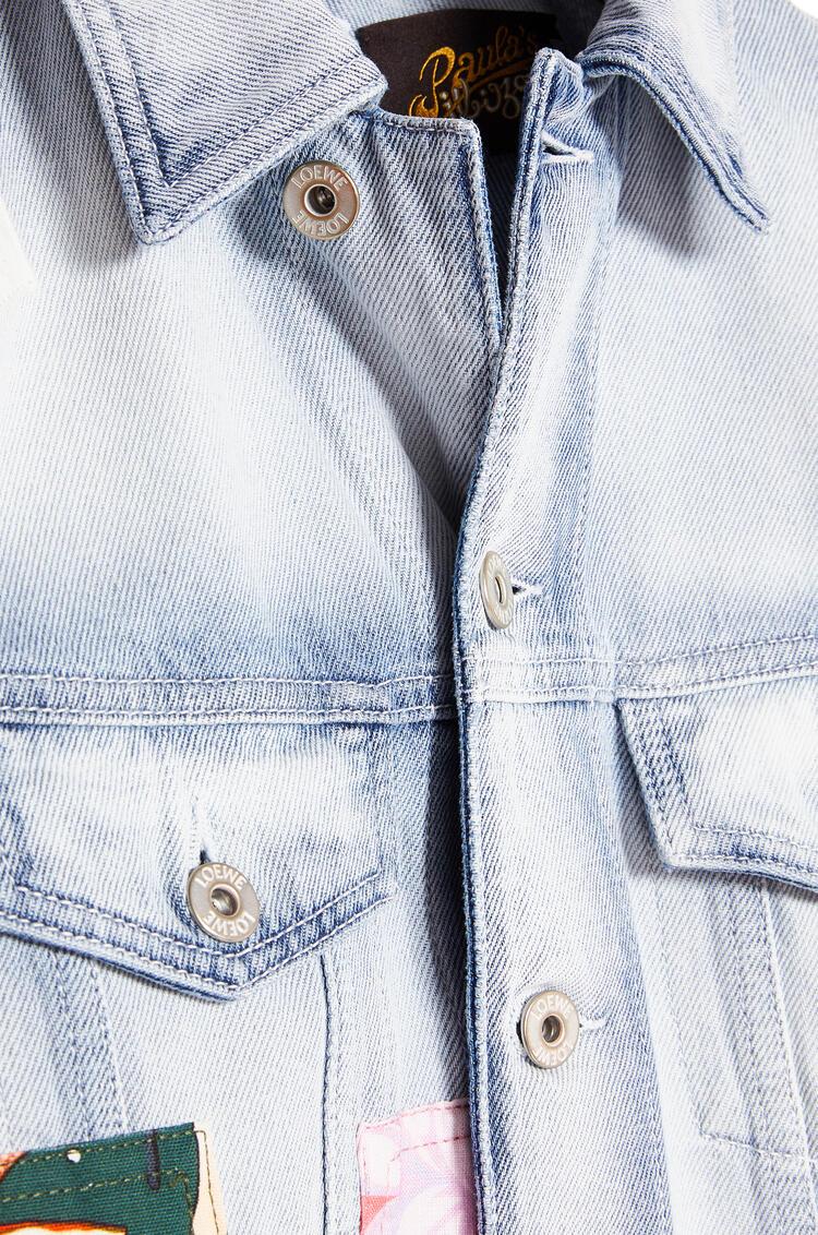 LOEWE パッチ ジャケット  (コットン) light blue/multicolor pdp_rd