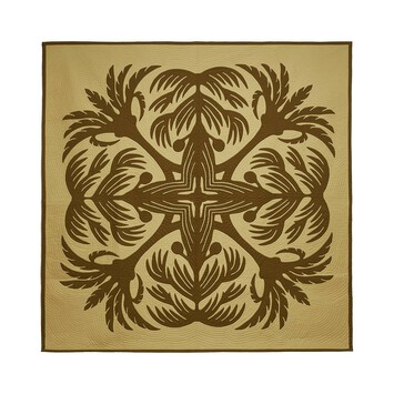 LOEWE 230X230 Blanket Palms Green front