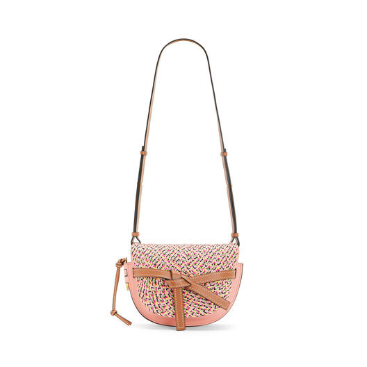 LOEWE Gate Small Bag Blossom front