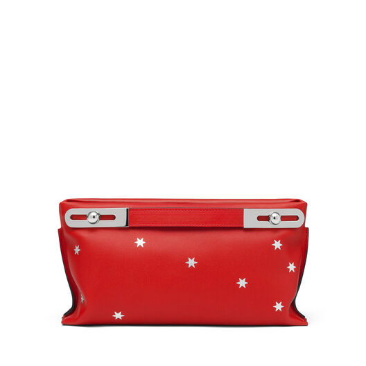 LOEWE ミッシー スタースモール バッグ Scarlet Red/Silver  all