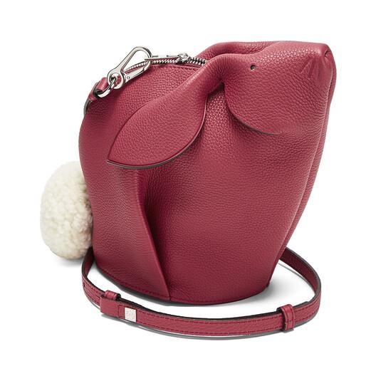 LOEWE Bunny Mini Bag 覆盆莓色 front