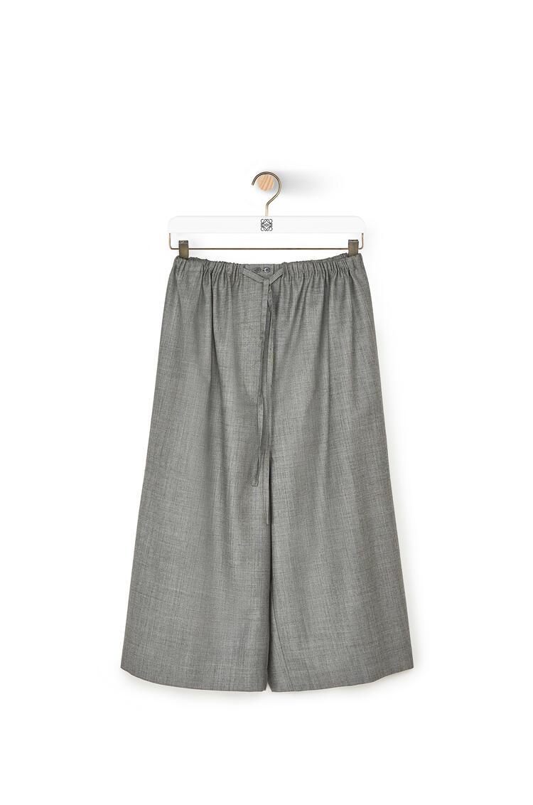 LOEWE Drawstring Shorts In Cashmere Grey pdp_rd