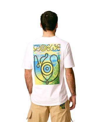 LOEWE T-Shirt Loewe Eye Blanco front