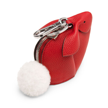 LOEWE Bunny Charm Scarlet Red front