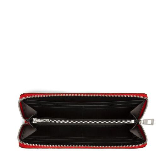 Linen Zip Around Wallet