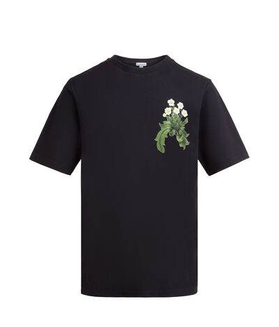LOEWE Tshirt Loewe & Co Black front