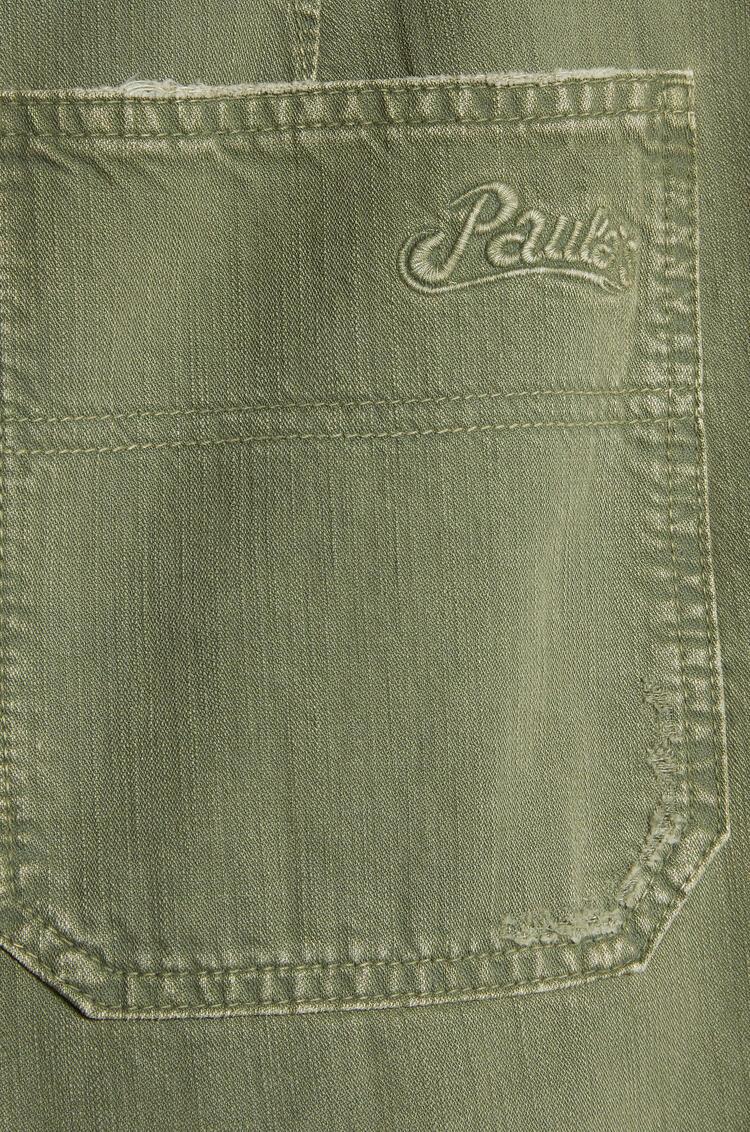 LOEWE Pantalón de algodón Verde Kaki/Verde Kaki Oscuro pdp_rd