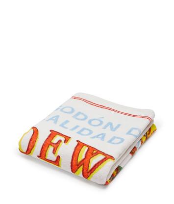 LOEWE 105X170 Towel El Leon Yellow front