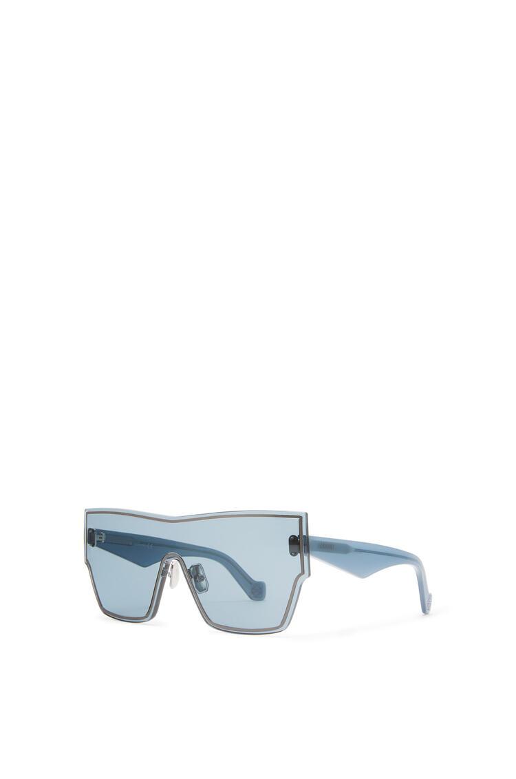 LOEWE Large Mask Sunglasses Vintage Blue pdp_rd