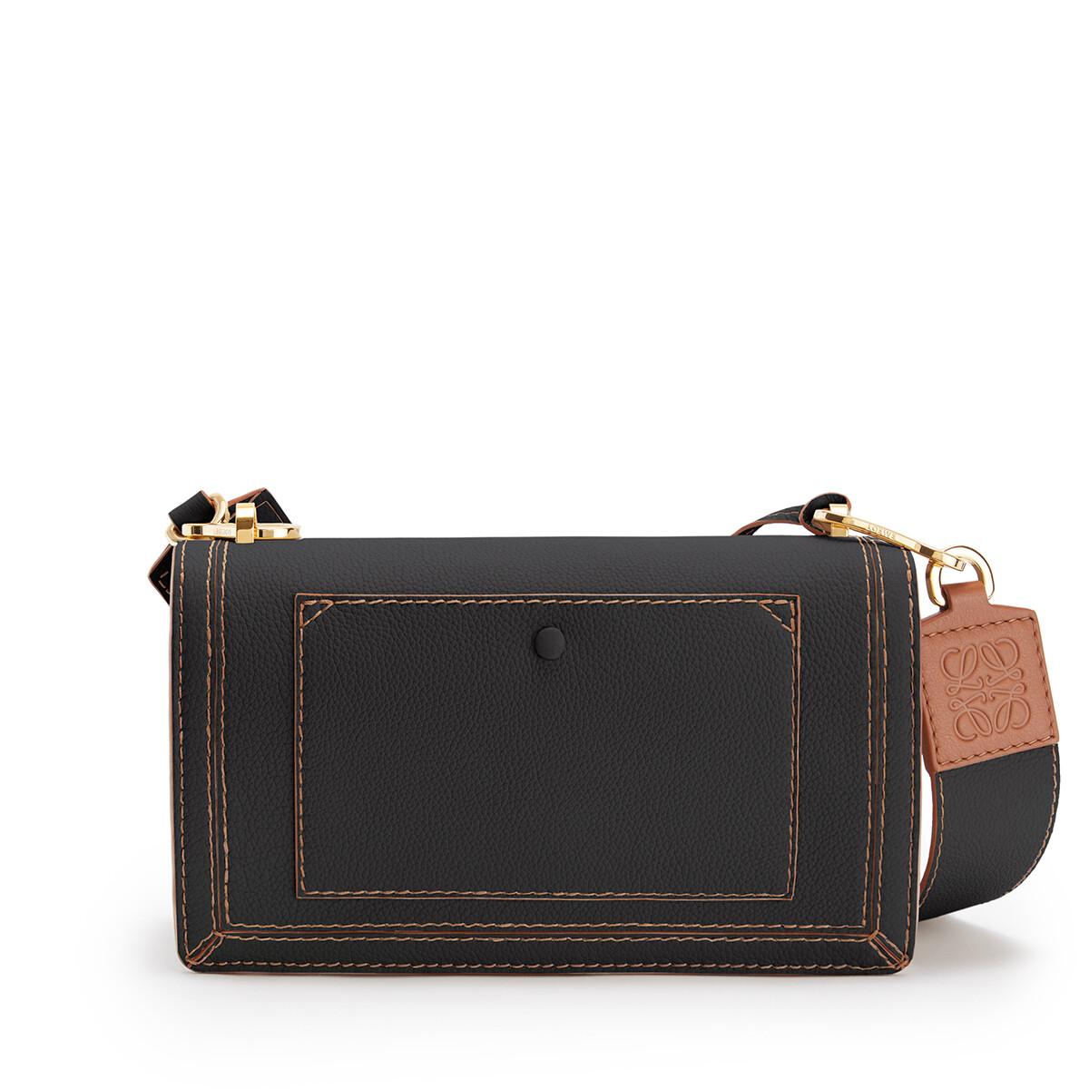 LOEWE Barcelona Soft Bag Black front