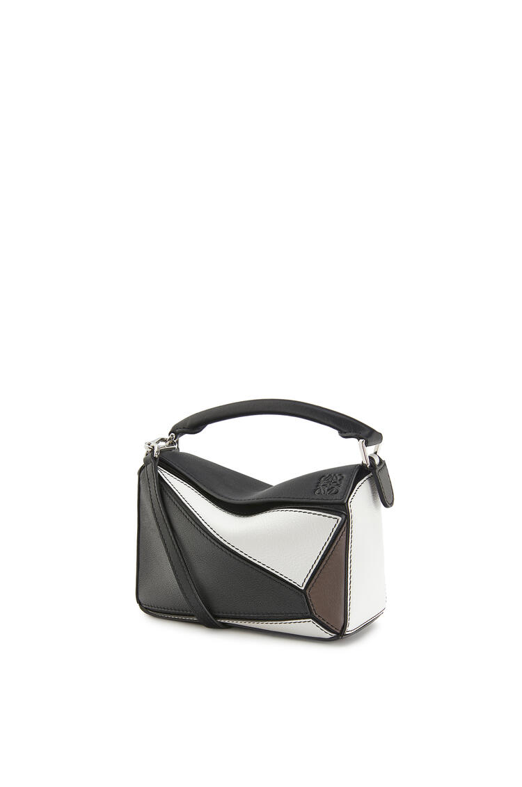 LOEWE パズルバッグ ミニ (クラシック カーフスキン) Black/Taupe pdp_rd