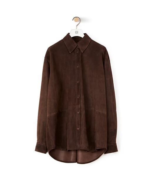 LOEWE Oversize Shirt Ebony front