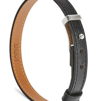 LOEWE Double Bracelet Black front