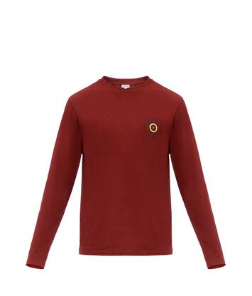 LOEWE Long Sleeve T-Shirt Loewe Eye Burdeos front