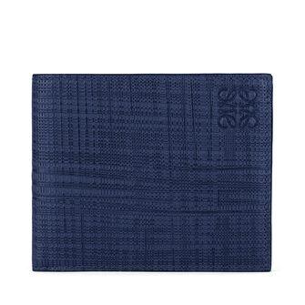 LOEWE 6 カード バイフォルド ネイビーブルー front
