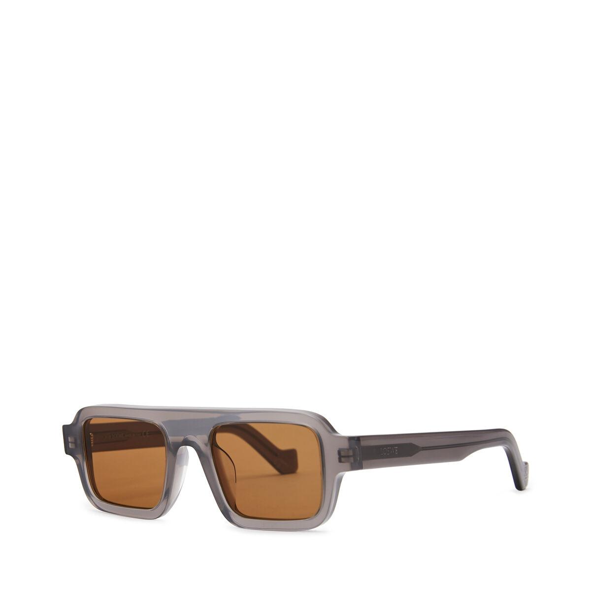 LOEWE Square Sunglasses Grey front