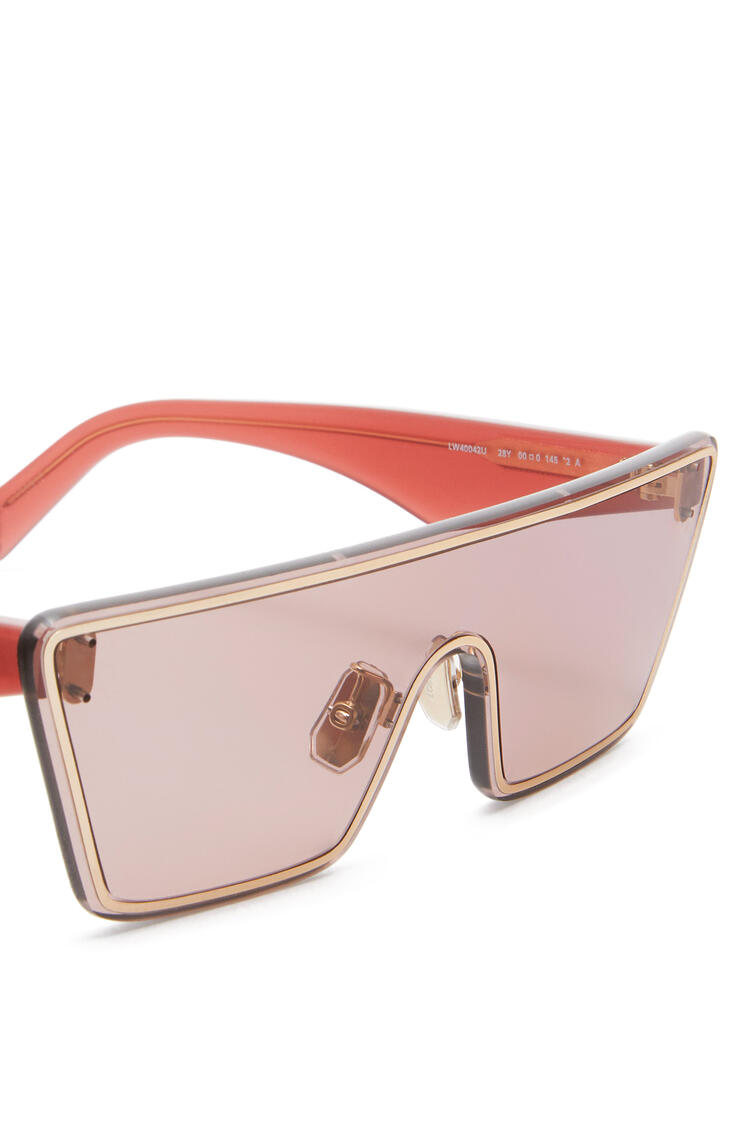 LOEWE Small Mask Sunglasses Antique Rose pdp_rd