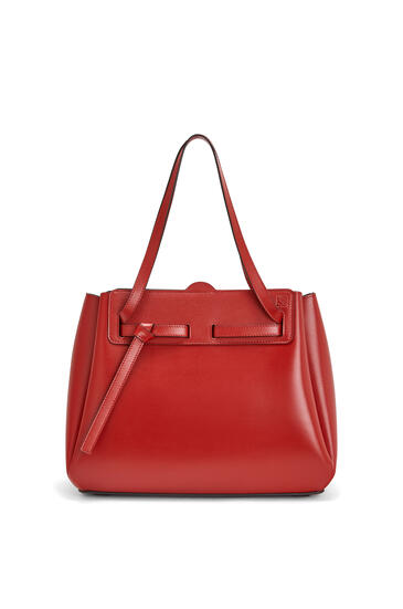LOEWE Lazo shopper bag in box calfskin Rouge pdp_rd
