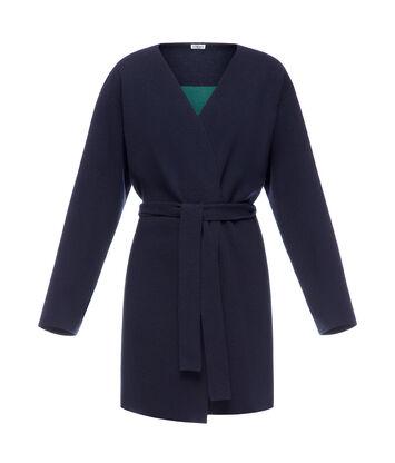 Belted Knit Coat