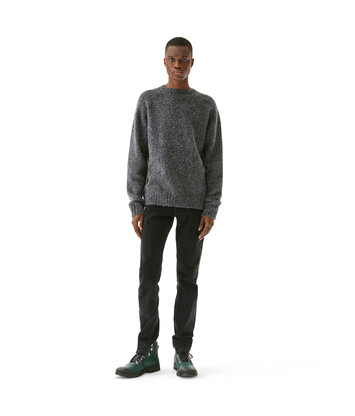 LOEWE Oversize Sweater Gris front