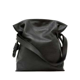 LOEWE Flamenco Knot Bag 黑色 front
