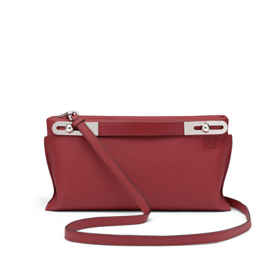 LOEWE Missy Small Bag Brick Red front