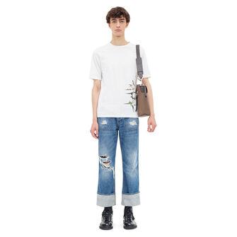 LOEWE Tシャツボタニカル ホワイト front