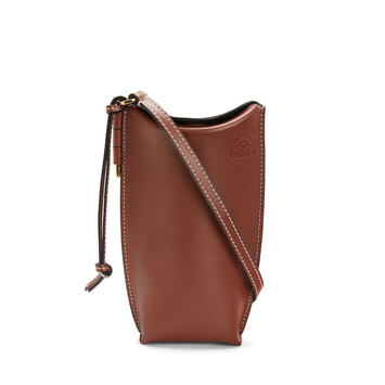 LOEWE Gate Pocket Rust Color front