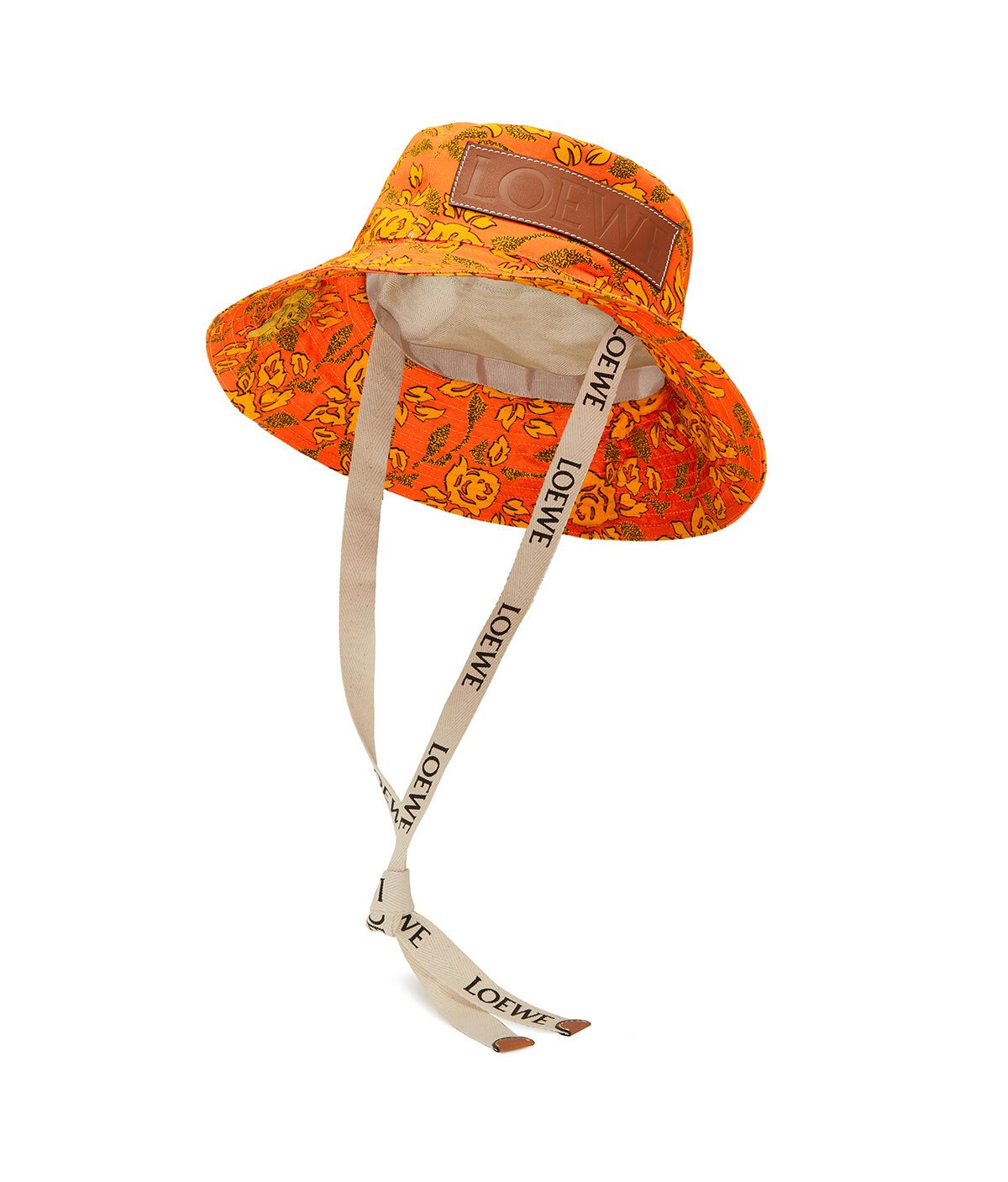 LOEWE Paula Bucket Hat Orange front