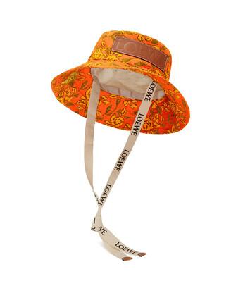 LOEWE Paula Bucket Hat Orange front