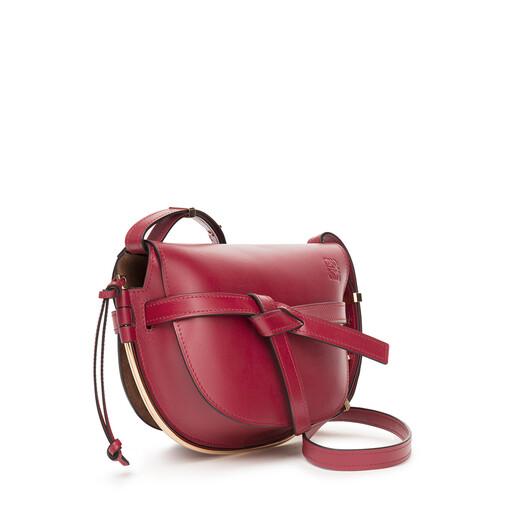 LOEWE Gate Frame Small Bag 胭脂红 front