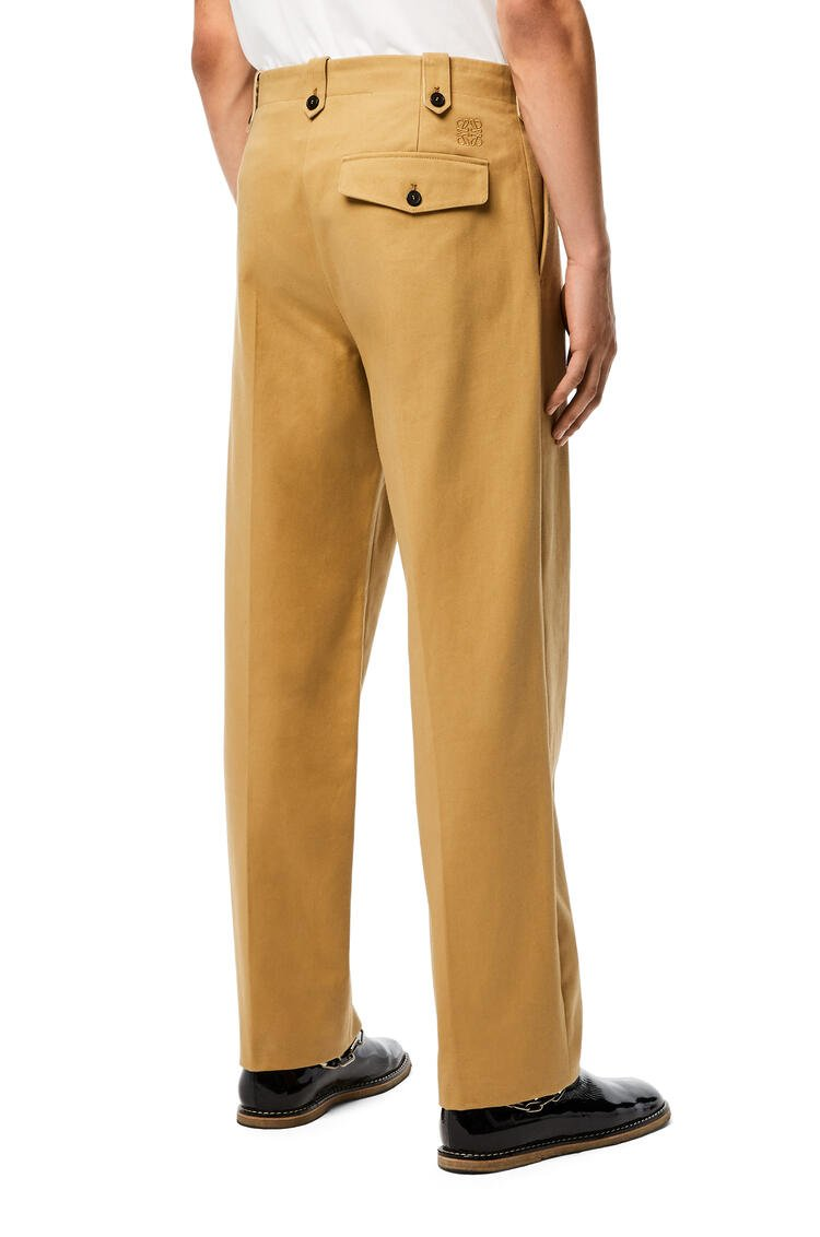 LOEWE Trousers in cotton Beige pdp_rd