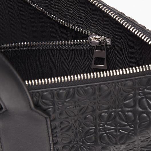 LOEWE Goya Simple Briefcase Black front