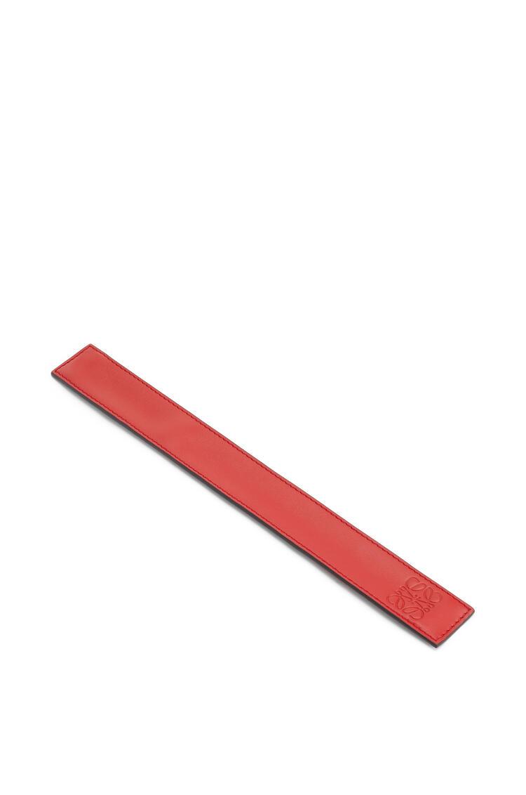 LOEWE Small Slap Bracelet In Calfskin Pomodoro pdp_rd