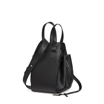 LOEWE Hammock Drawstring Small Bag Black front