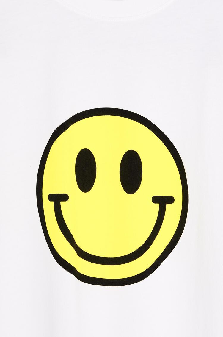 LOEWE 棉質笑臉T恤 白 pdp_rd