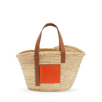 LOEWE Basket Natural/Orange front