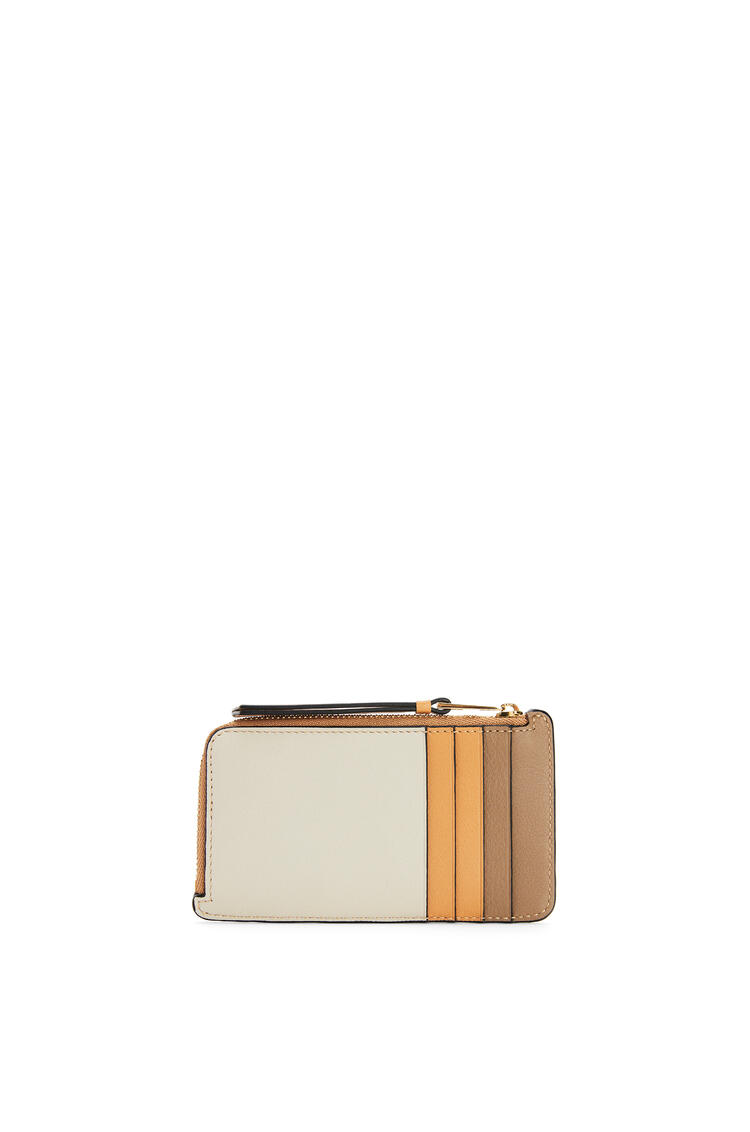LOEWE Puzzle coin cardholder in classic calfskin Warm Desert/Mink Color pdp_rd