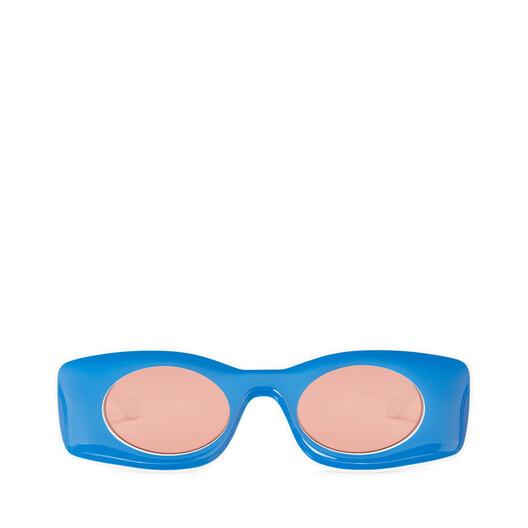 LOEWE Paula´S Original Sunglasses Blue/White front