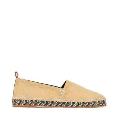 LOEWE Espadrille Oro Multico Sole Gold/Multicolor front