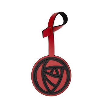 LOEWE Charm Roses Rojo Escarlata/Negro front