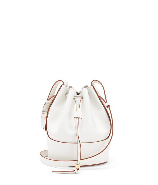 LOEWE Balloon Small Bag Soft White front