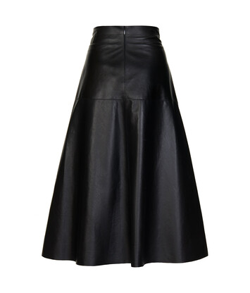 LOEWE Skirt W/ Belt Bag Black front