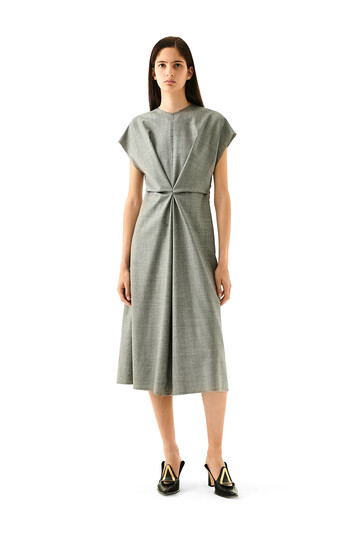 LOEWE Dress グレー front