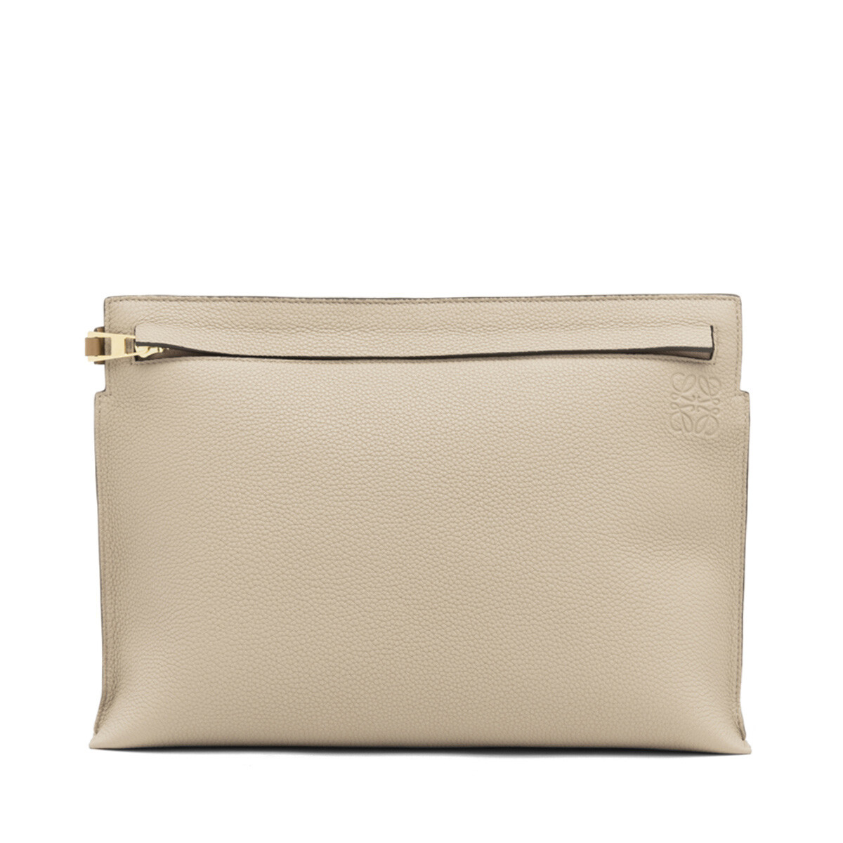 LOEWE T Pouch Sand front