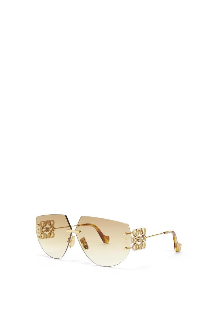 LOEWE Rimless mask Anagram sunglasses Orange/Gold pdp_rd