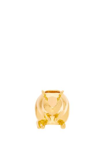 LOEWE Small Animal die in metal Gold pdp_rd