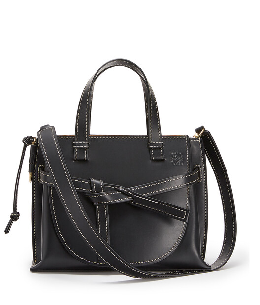 LOEWE Gate Top Handle Negro front