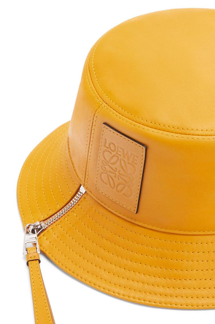 LOEWE Sombrero de pescador en piel napa Amarillo Narciso pdp_rd