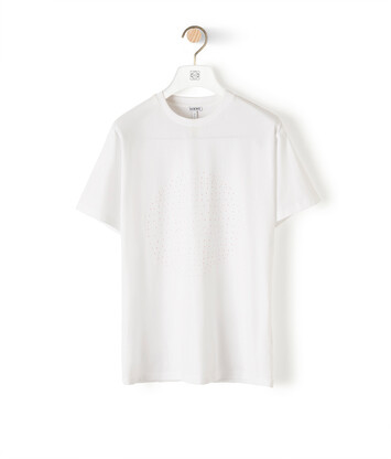 LOEWE Loewe Letter T-Shirt Blanco front